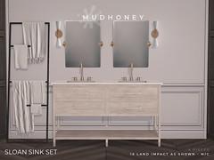 MudHoney Sloan Sink Set
