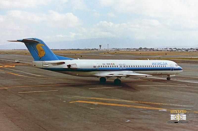 Aviacsa / Fokker F-100 / XA-RKM