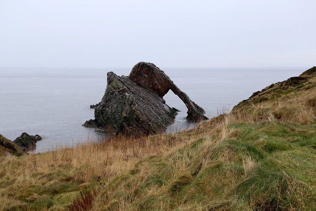 The coast between Portknockie and Cullen