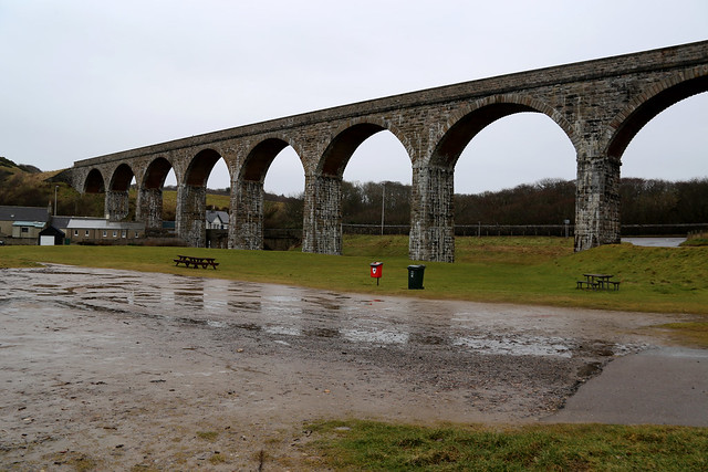 Old railway viaduct at Cullen