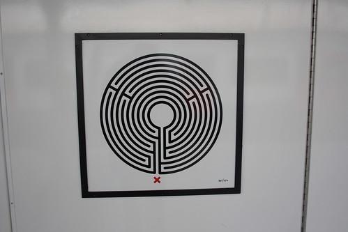 Art on the Underground Labyrinth 85 East Ham