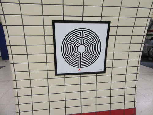 Art on the Underground Labyrinth 61 Piccadilly Circus
