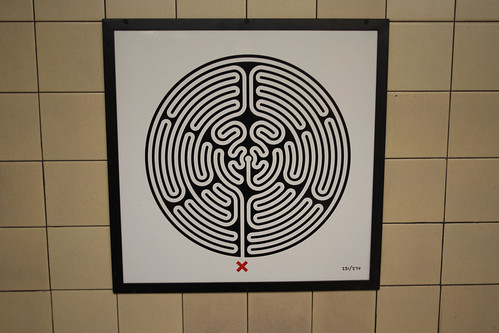 Art on the Underground Labyrinth 231 Leicester Square