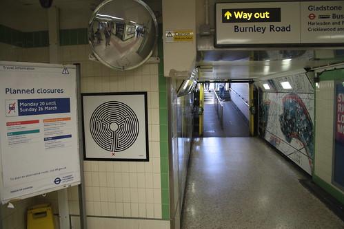 Art on the Underground Labyrinth 193 Dollis Hill