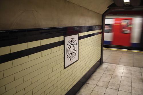 Art on the Underground Labyrinth 176 Mornington Crescent