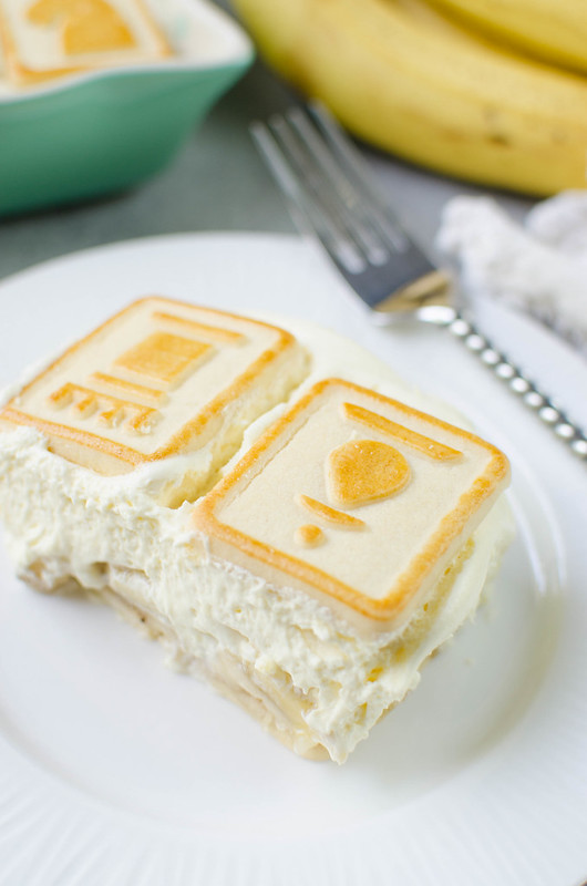 Banana Pudding - classic banana pudding made with buttery Chessmen cookies. Layers of cookies, banana, and creamy vanilla pudding!