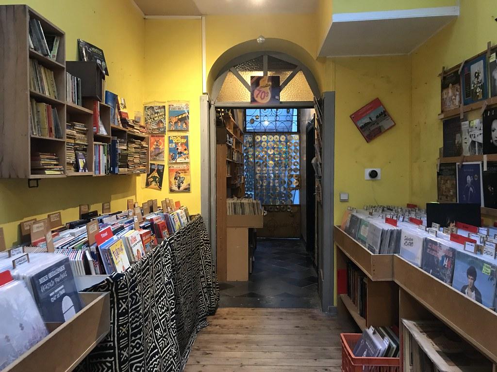 Arlequin: tienda de música en Bruselas