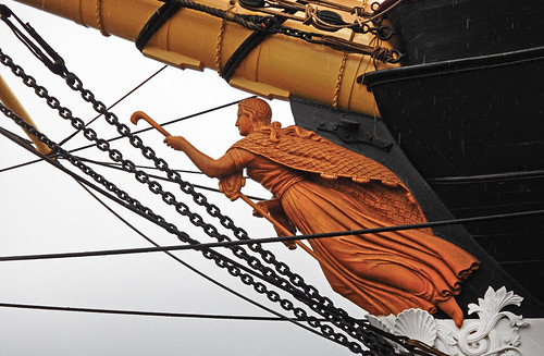 Figurehead on the frigate