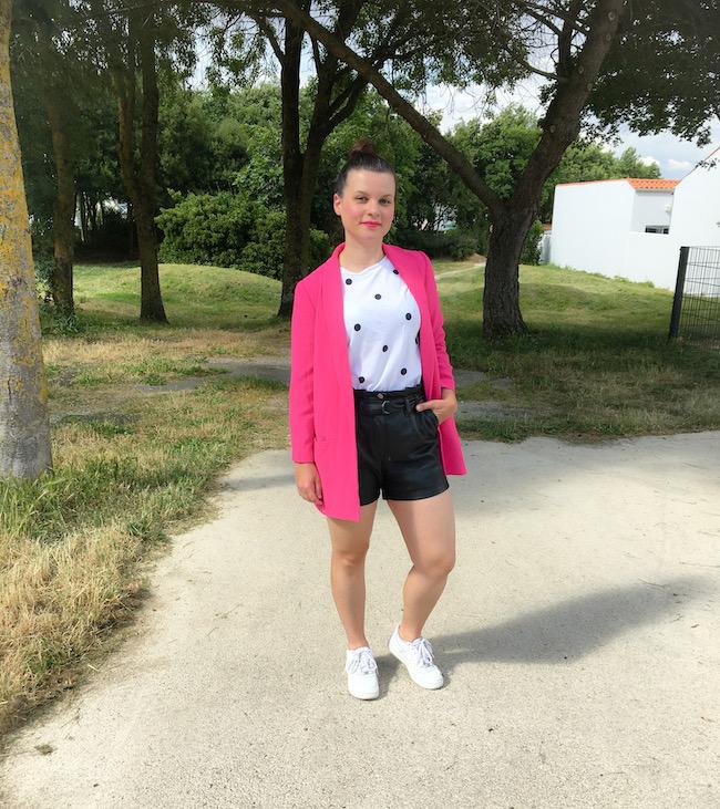 Comment porter le blazer rose fuchsia ?