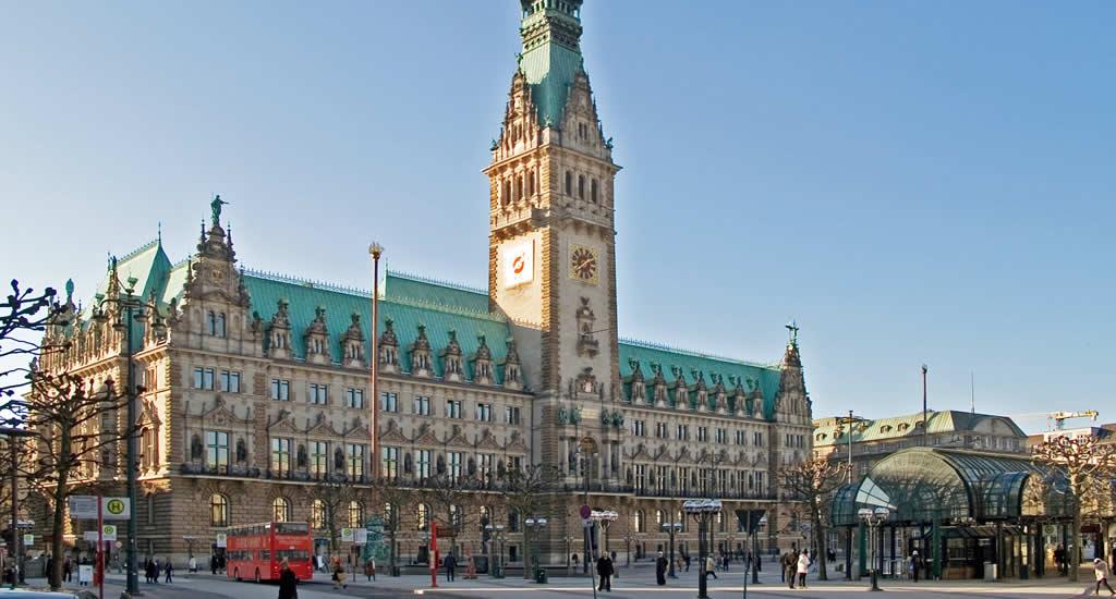 Bezienswaardigheden Hamburg: Rathaus | Mooistestedentrips.nl