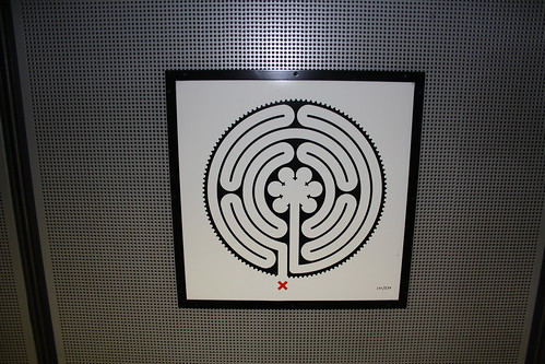 Art on the Underground Labyrinth 101 Westminster