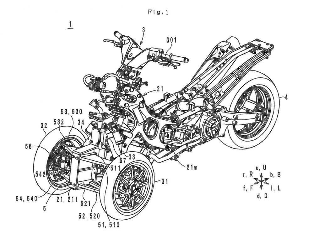 Draft Patent Yamaha TMax LMW