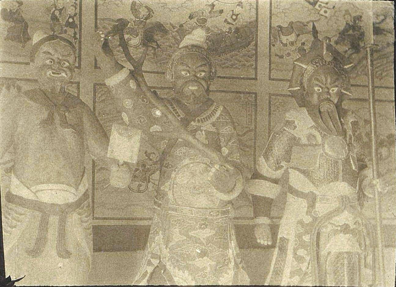 37. «Кумирни города Гирина. Боги». Ноябрь 1900