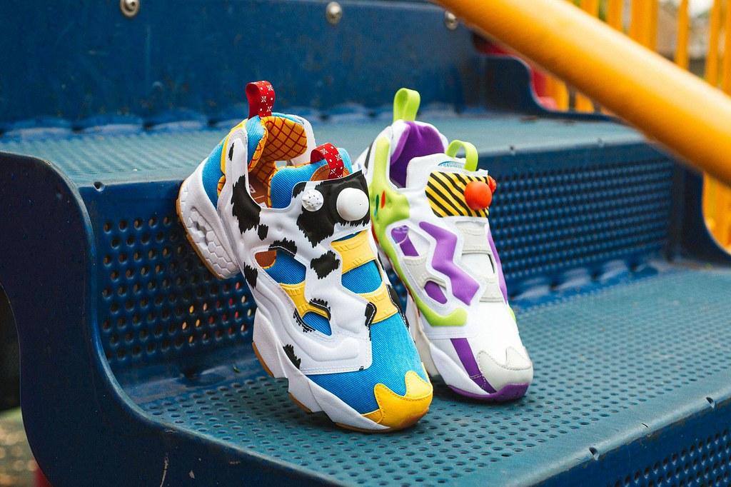 終於!玩總迷的夢幻鞋款來了! BAIT ×《玩具總動員》× Reebok「Instapump Fury OG 胡迪&巴斯」(Instapump Fury OG Woody And Buzz)現正於 BAIT 官網開放抽選!