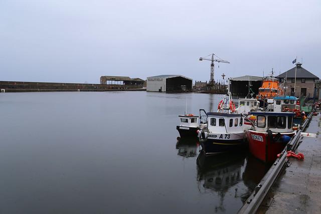 Cluny Harbour, Buckie