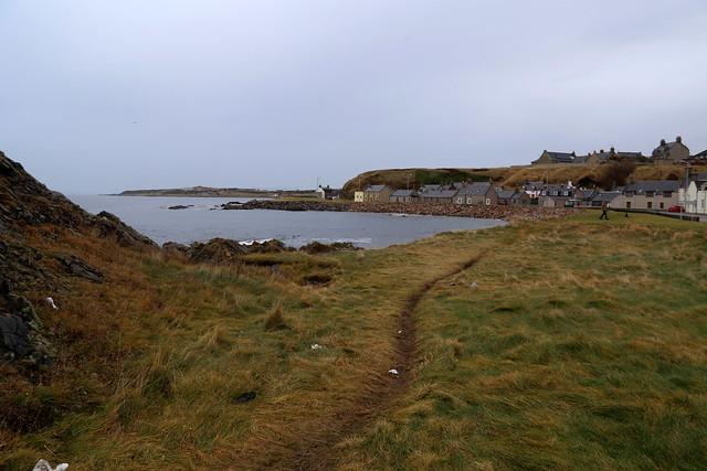 The coast at Buckie