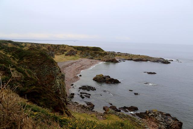The coast near Findochty