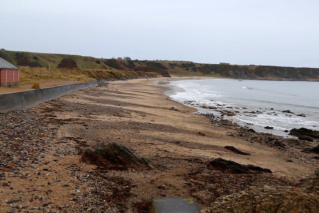 The coast at Cullen