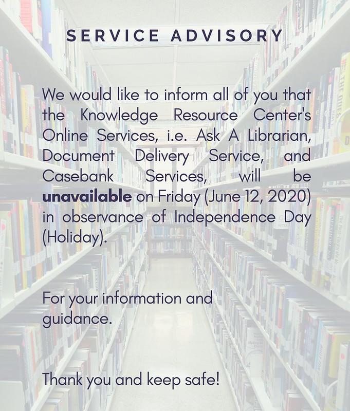 Service advisory (7)