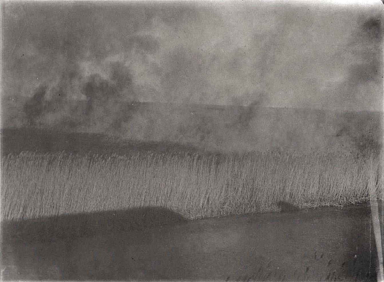 48. В степях Монголии. Степные пожары. Октябрь 1900