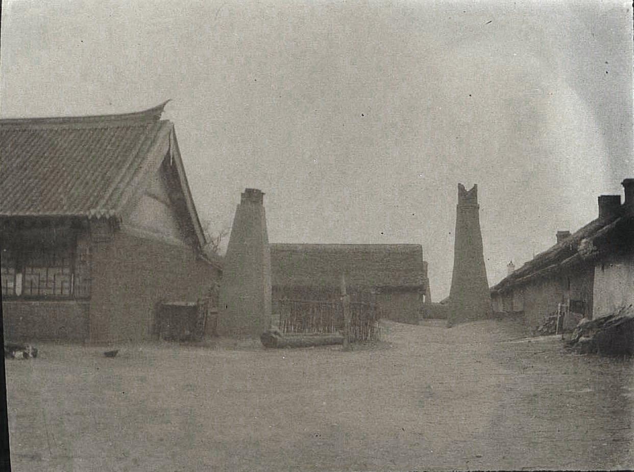 44. «Китайский двор зажиточного хозяина». Ноябрь 1900