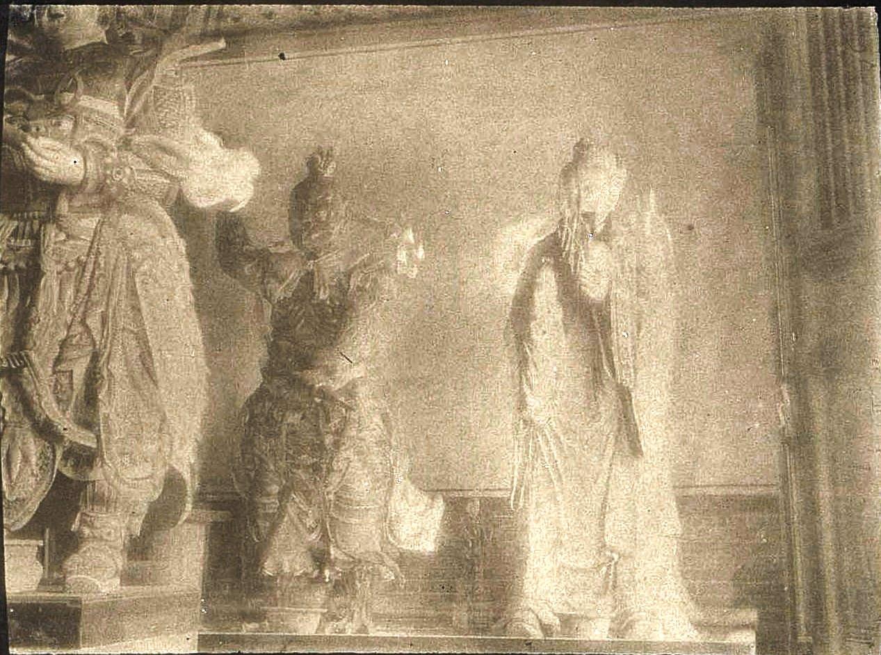 36. «Кумирни города Гирина. Боги. Посередине дух зла». Ноябрь 1900