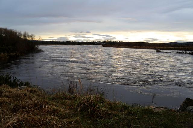 The River Spey near Spey Bay