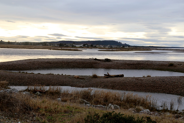 The River Spey at Spey Bay