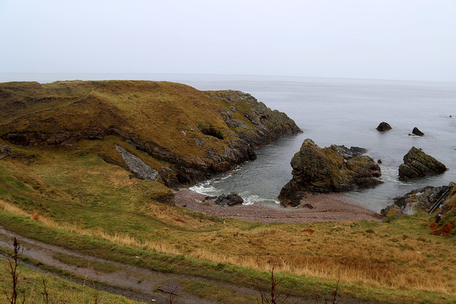 The coast between Findochty and Portknockie
