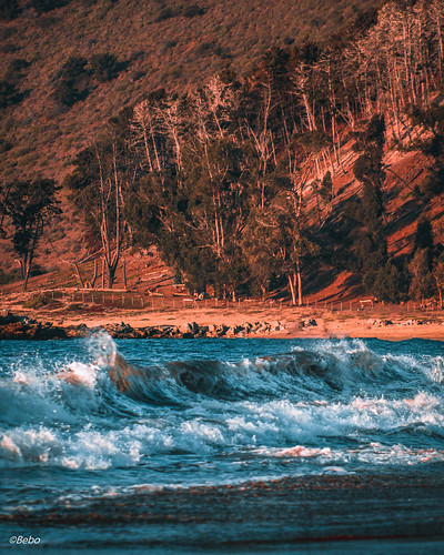 waves olas papudo sunset sunsetphotography landscape sea goldenhour fores beach playas chile canon canont5 canonchile