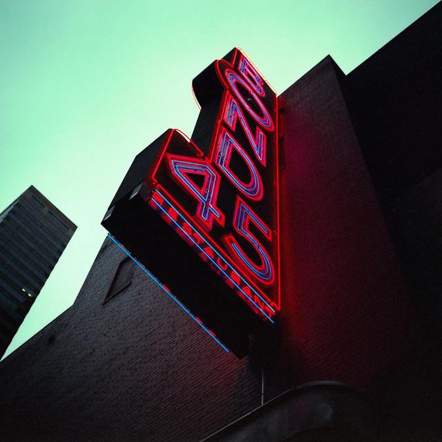 bond 45 neon (xpro). new york, ny. 2008.