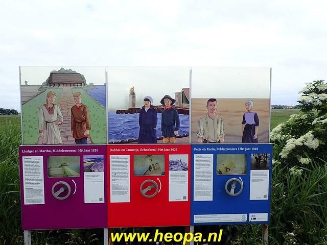 2020-06-09 Pioniers pad etappe 4 van Nagele naar Kraggeburg 25 km (1 (47)