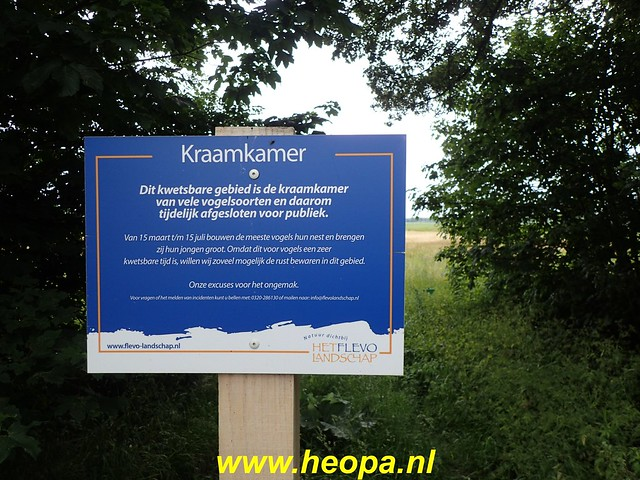2020-06-09 Pioniers pad etappe 4 van Nagele naar Kraggeburg 25 km (1 (30)