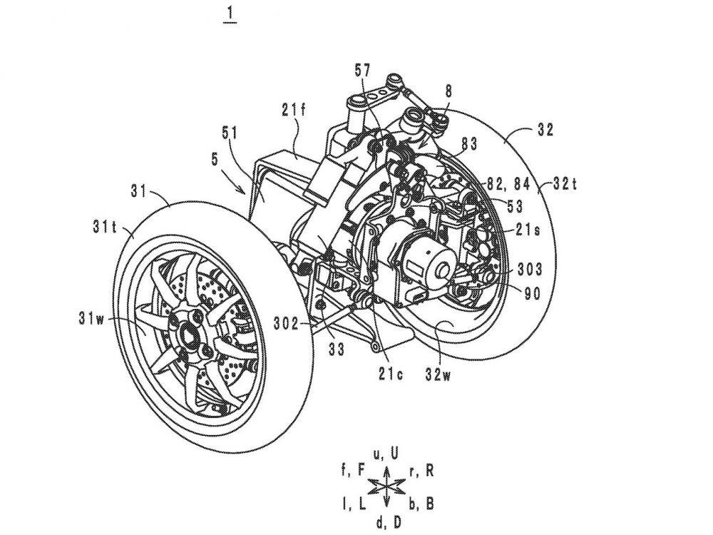 Draft Patent Yamaha TMax LMW Brudeli