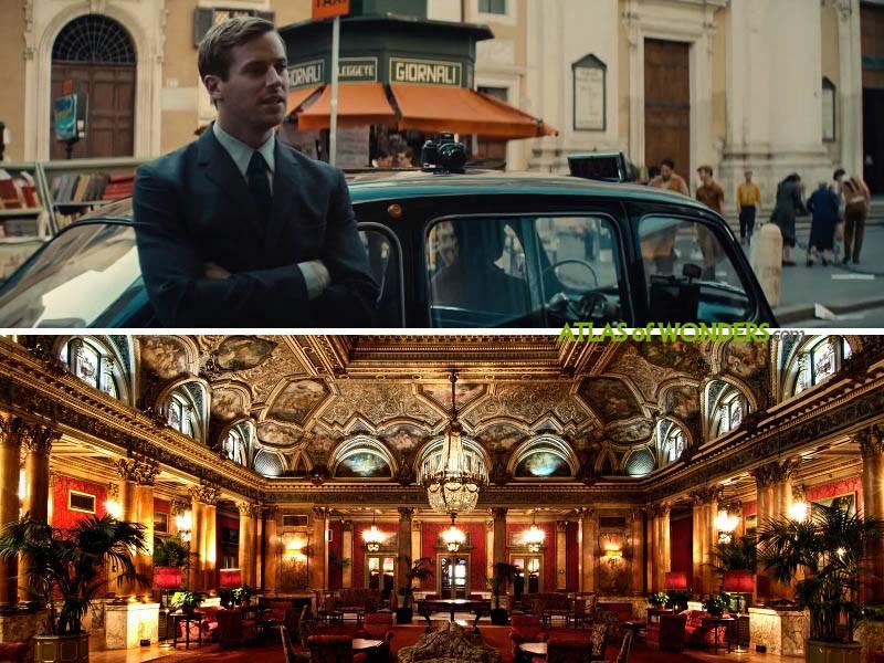 The Grand Plaza Hotel shoot
