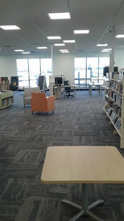 New carpeting and furniture, Shirley Library | by Christchurch City Libraries