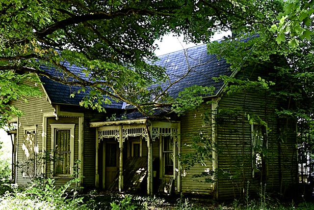 Ornate and Decaying House
