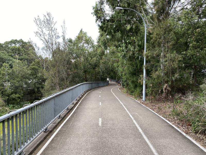 Warringah Freeway cycleway