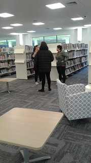 Library staff and new furniture, Shirley Library | by Christchurch City Libraries