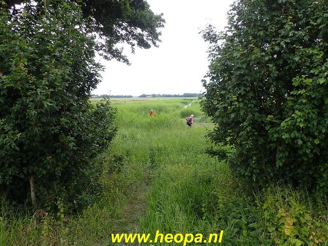 2020-06-09 Pioniers pad etappe 4 van Nagele naar Kraggeburg 25 km (1 (32)