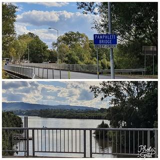 Pamphlett Bridge and Oxley Creek