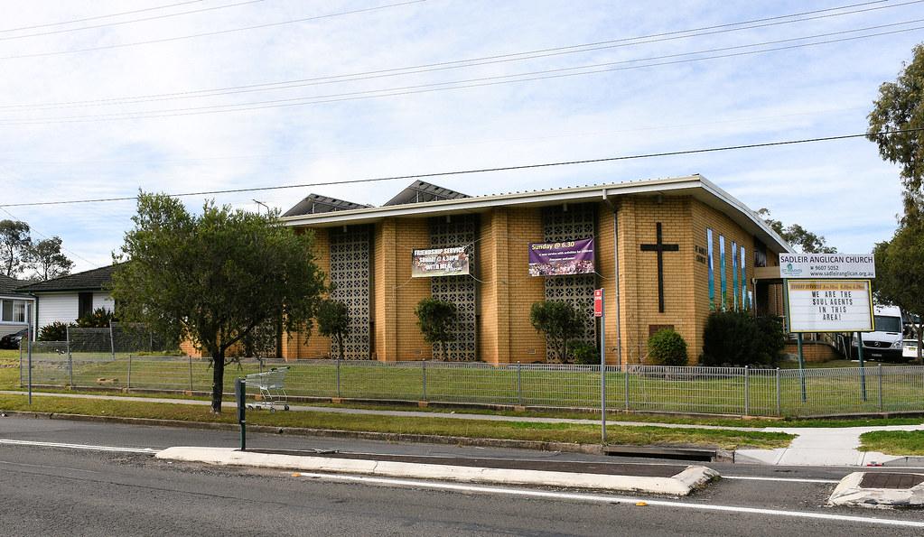 St Marks Anglican Church, Sadleir, Sydney, NSW.
