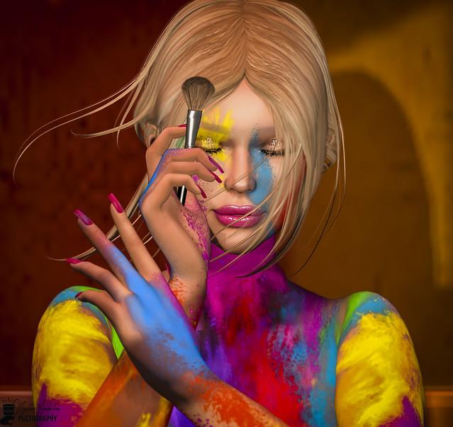 La vida es del color que la quieras pintar