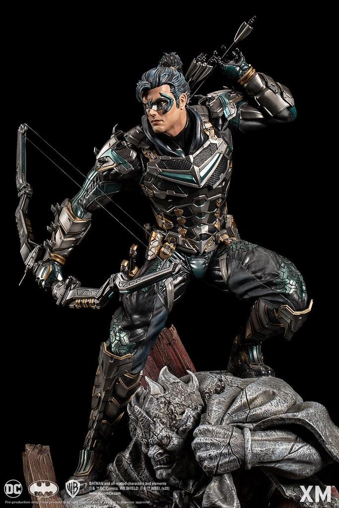 XM Studios DC Premium Collectibles Samurai Series【夜翼】Nightwing 1/4 比例全身雕像