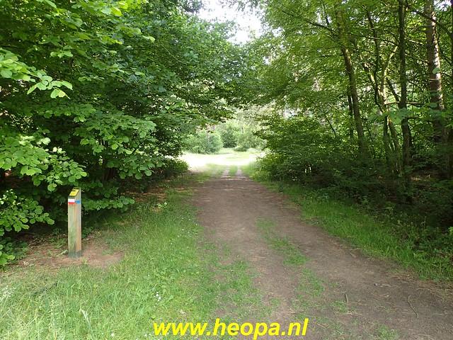 2020-06-09 Pioniers pad etappe 4 van Nagele naar Kraggeburg 25 km (1 (146)