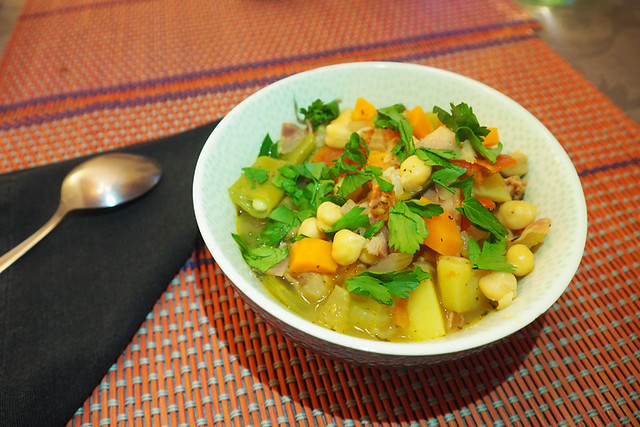 Middle Eastern chickpea stew