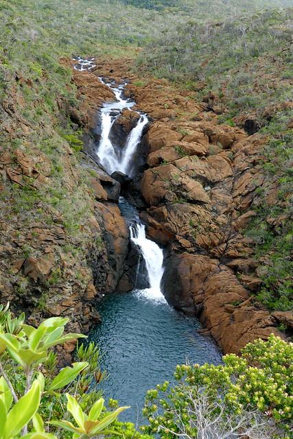 Cascade Camille, sur la Kwé Binyi