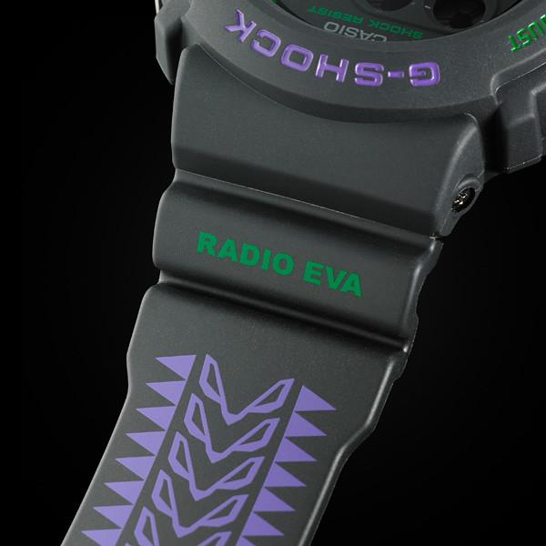 【EVANGELION STORE 限定】 G-SHOCK《福音戰士新劇場版》原創設計手錶 DW-6900 feat.RADIO EVA
