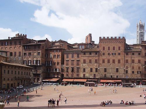 Siena: Nejkrásnější náměstí světa – Piazza del Campo