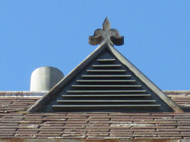 Roof Vent Detail at the Victorian School For Deaf Children - St Kilda Road